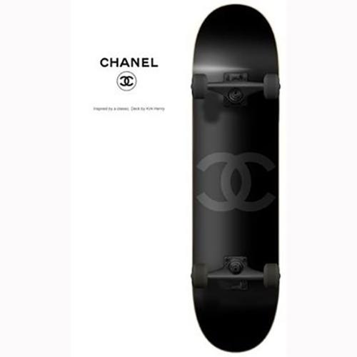 Chanel Skateboard
