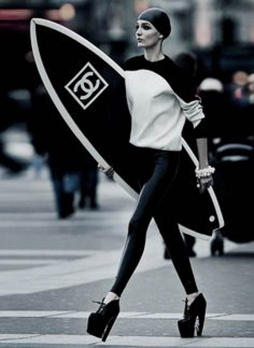 Chanel Sportswear - bahia-oawi: pradaphne: Zuzanna Bijoch photographed by Hans Feurer for Antidote Magazine Spring/Summer 2013: The Street Issue.