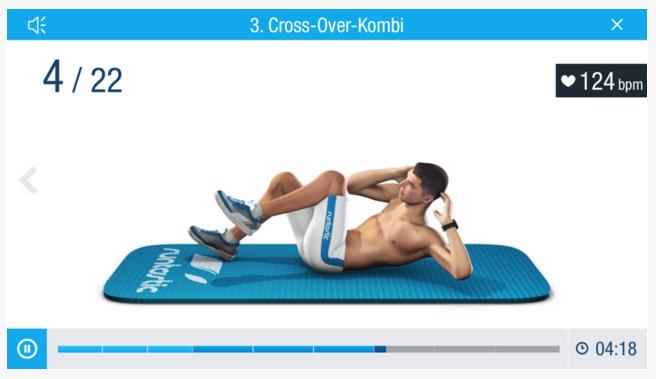Runtastic Six Pack: Bauchmuskeltraining, Bauch-Übungen, Trainer & individuelle Workouts
