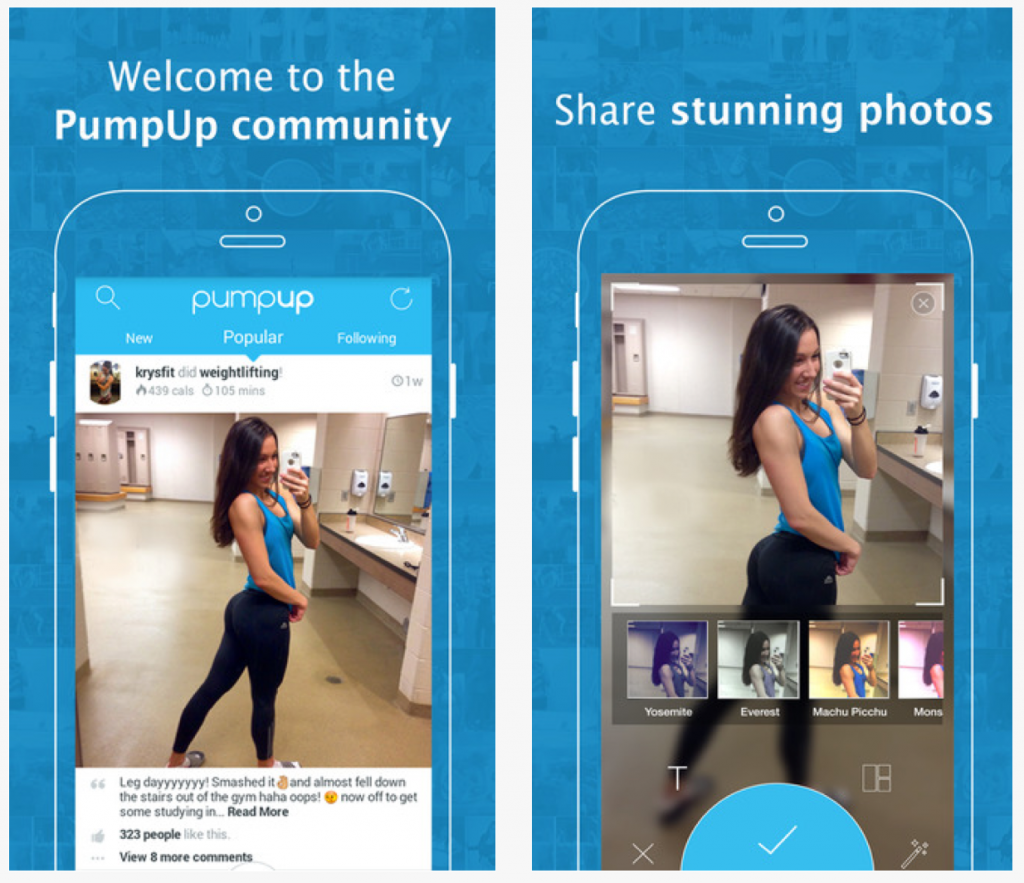 Fitness Apps: Pump Up