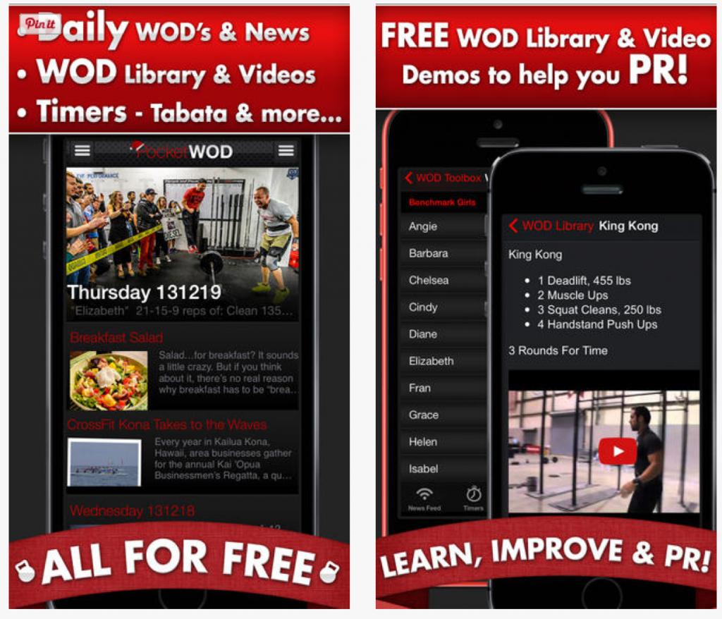 Fitness Apps: Pocket WOD