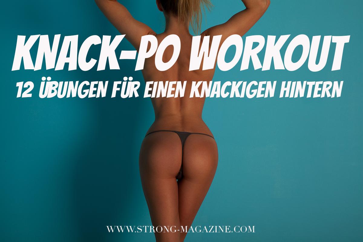 Knack-Po Workout - die 12 besten Übungen für einen knackigen Hintern inkl. Trainingsplan