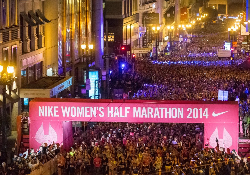Nike BETTER FOR IT - Nike Women's Race Series