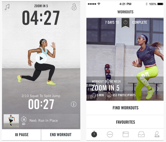 Die 17 besten Fitness Apps 2015