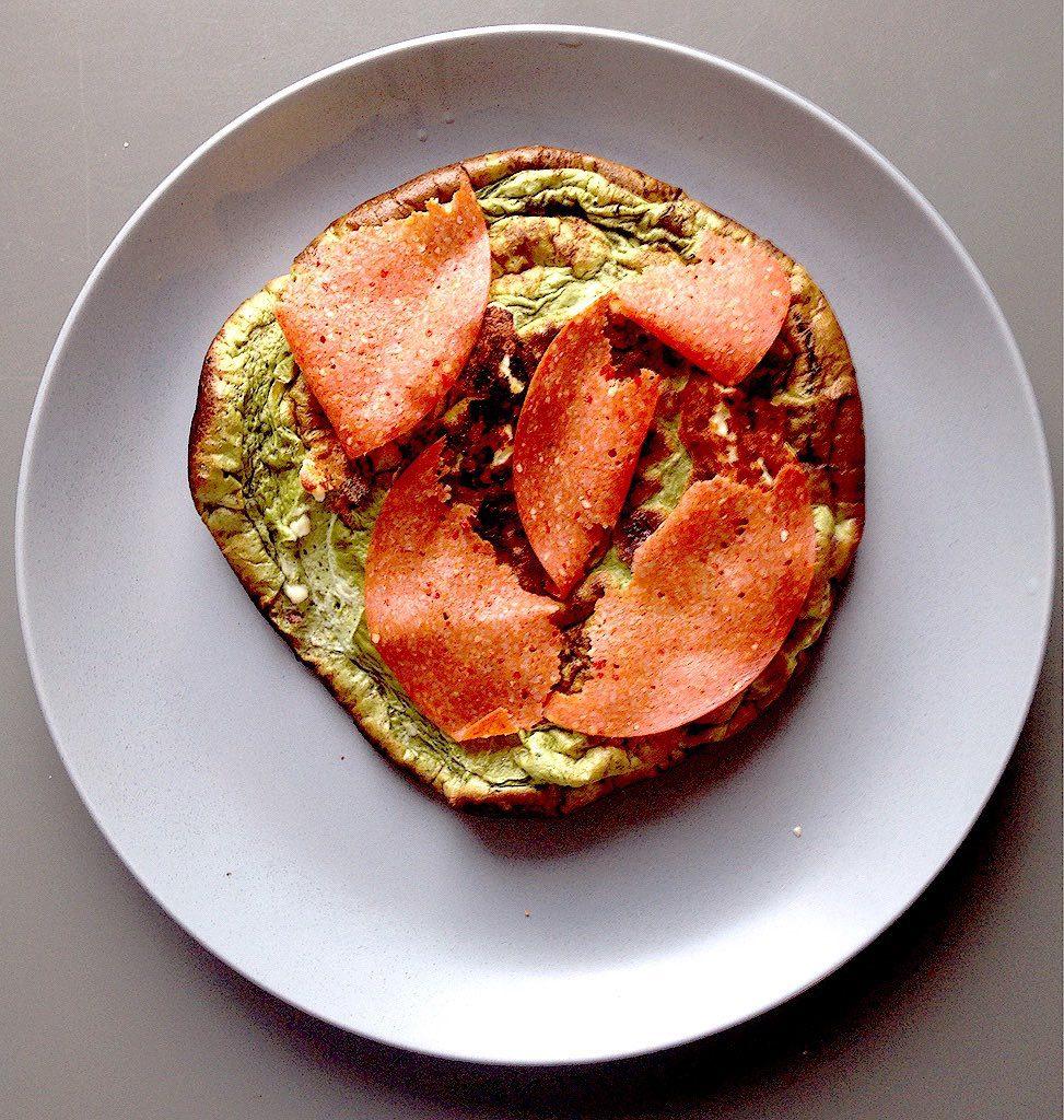 Low Carb Pizza mit Salami - Protein Pizza Rezepte
