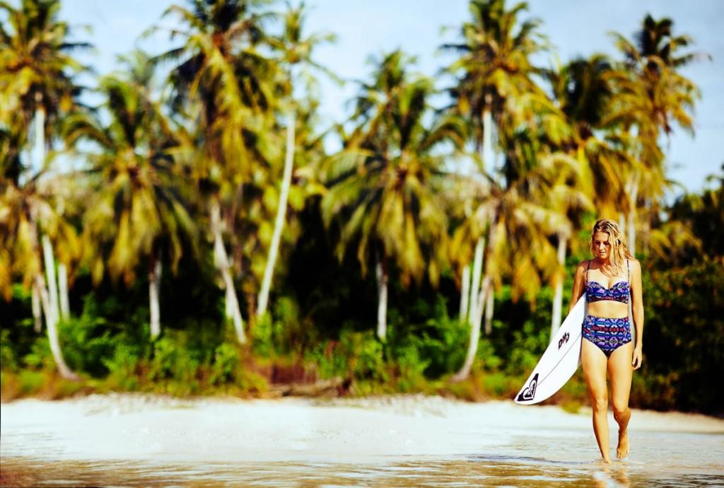 Beachwear Trends 2015 von Roxy