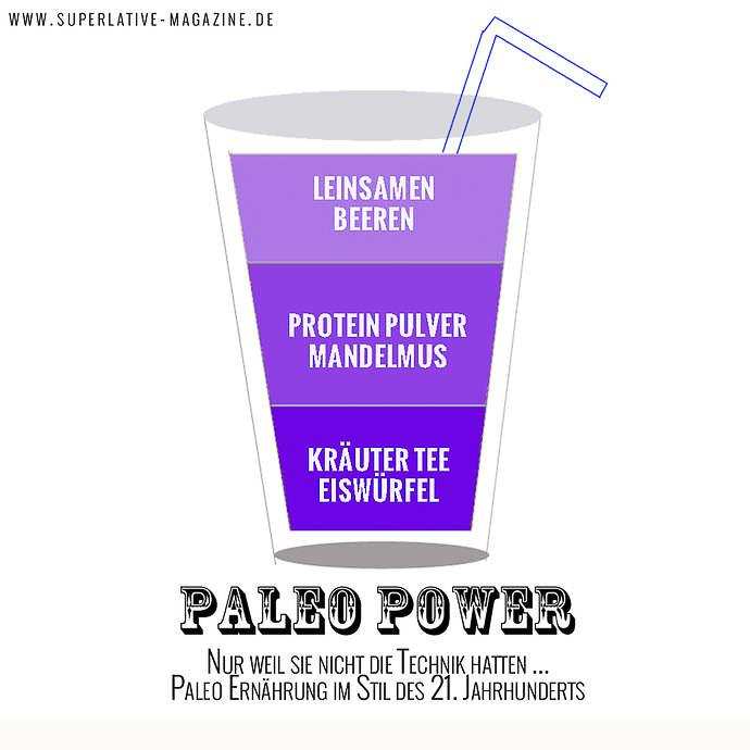 Paleo Smoothie für mehr Energie beim Training