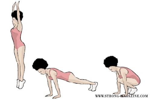 STRONG-Burpees
