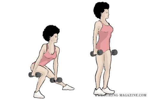 Lateral Lunges - Training für schlanke Oberschenkel