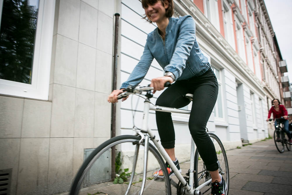 STRONG Magazine testet die Levis Commuter Bicycle Denim