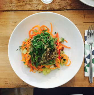 Matcha Rezepte: Soba Noodle Salad