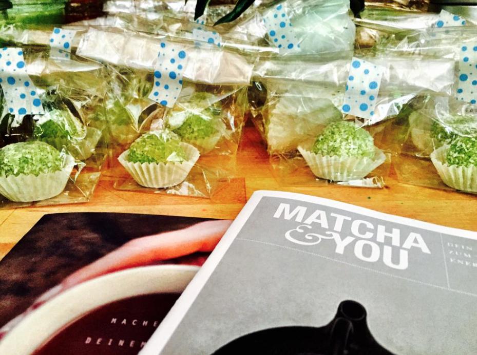 Matcha Rezepte: Das Kochbuch von Teatox und Matcha Energiy Balls - lecker