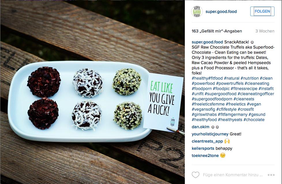 Marcus Schall von Super Good Food postet täglich auf Facebook und Instagram Tipps und Rezepte zu richtig gesundem Essen