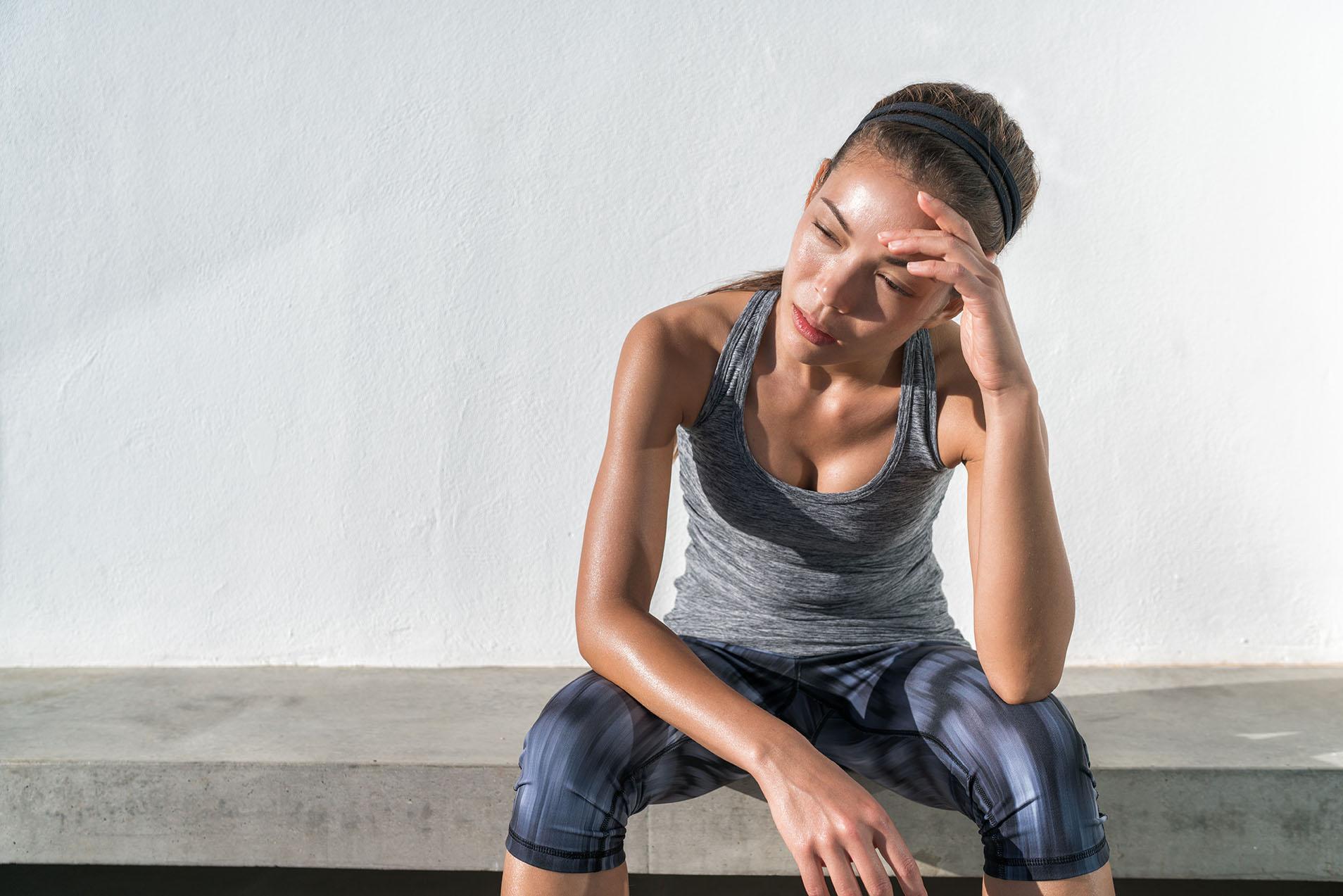 Heiße Gym-Milf Beim Training