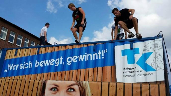 Urbanathlon 2015 - STRONG Magazine macht sich fit für den Hindernisslauf in Hamburg
