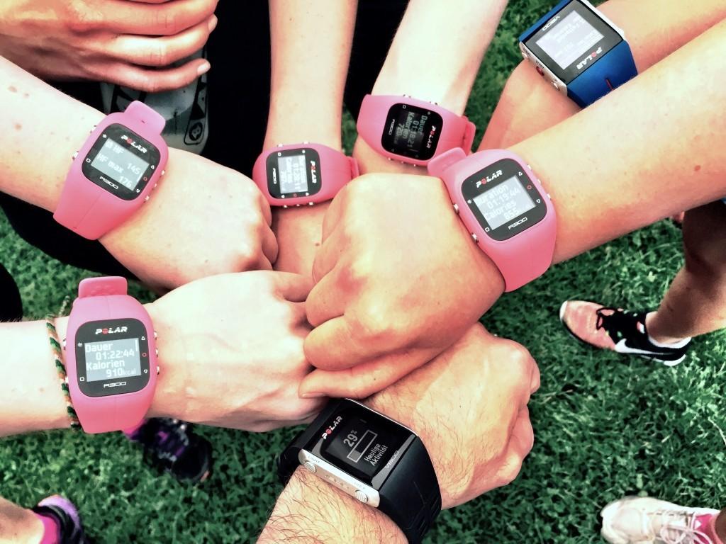 Urbanathlon Workout Challenge Woche 2 - die Polar Uhr im Test
