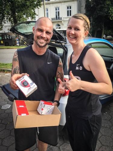 Urbanathlon Workout Challenge Woche 2  mit der Polar Uhr
