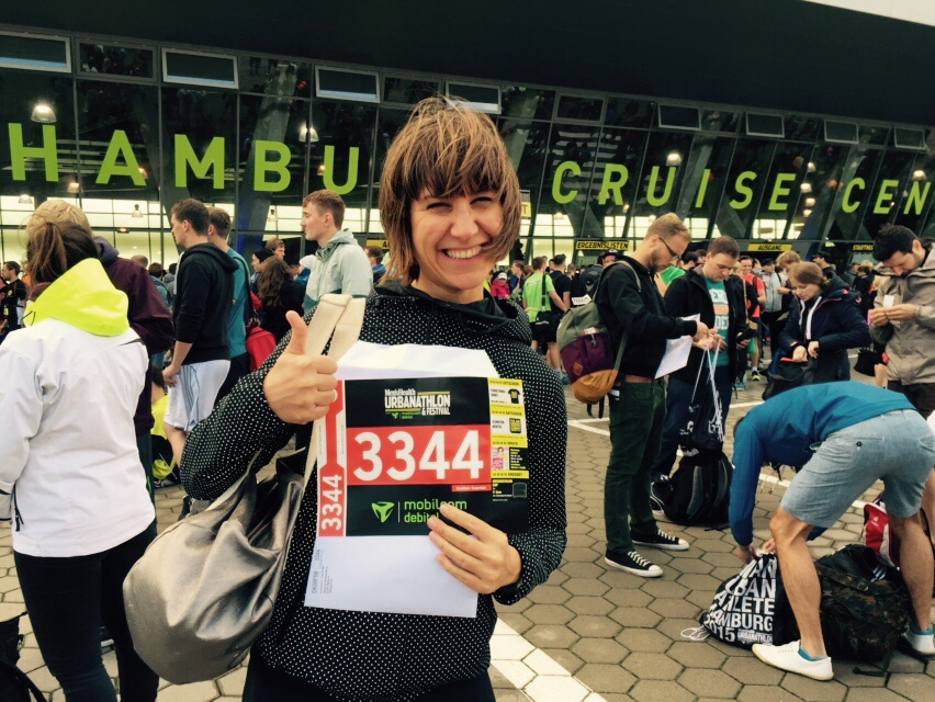 Urbanathlon 2015 in Hamburg - kann losgehen