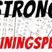 STRONG Trainingspläne zum Fettabbau