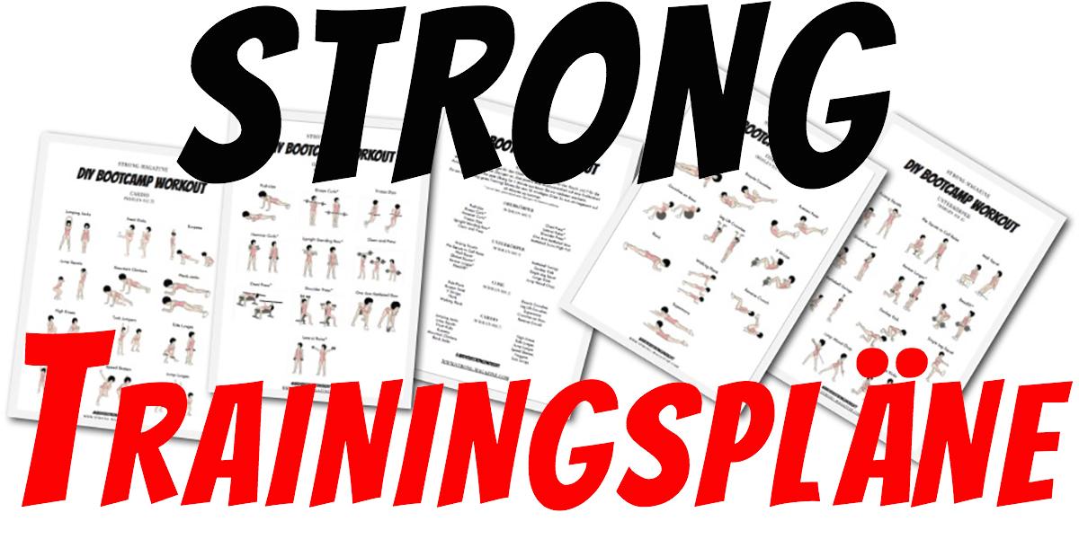 Hit Trainingsplan 3er Split Muskelaufbau Trainingsplan