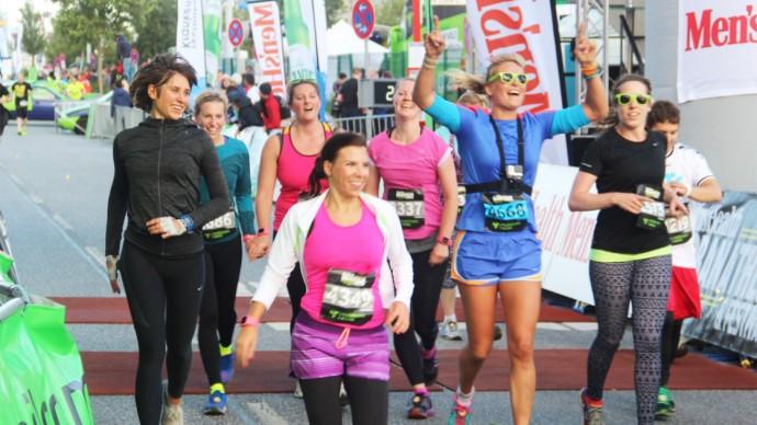 Urbanathlon 2015 in Hamburg - das TKelbsprinter Team auf der Zielgeraden