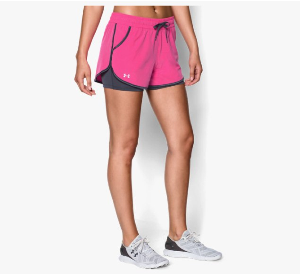 Gym Shorts: Damen Shorts UA 2X Rally von Under Amour