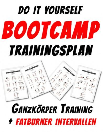 Trainingsplan Bootcamp Training - DIY Zirkeltrainingsplan