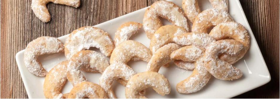 Low Carb Weihnachtsplätzchen: Vanillekipferl ohne Kohlenhydrate