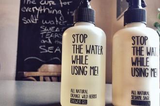 STOP THE WATER WHILE USING ME - Natürliche Beautyprodukte für sportliche Ladies