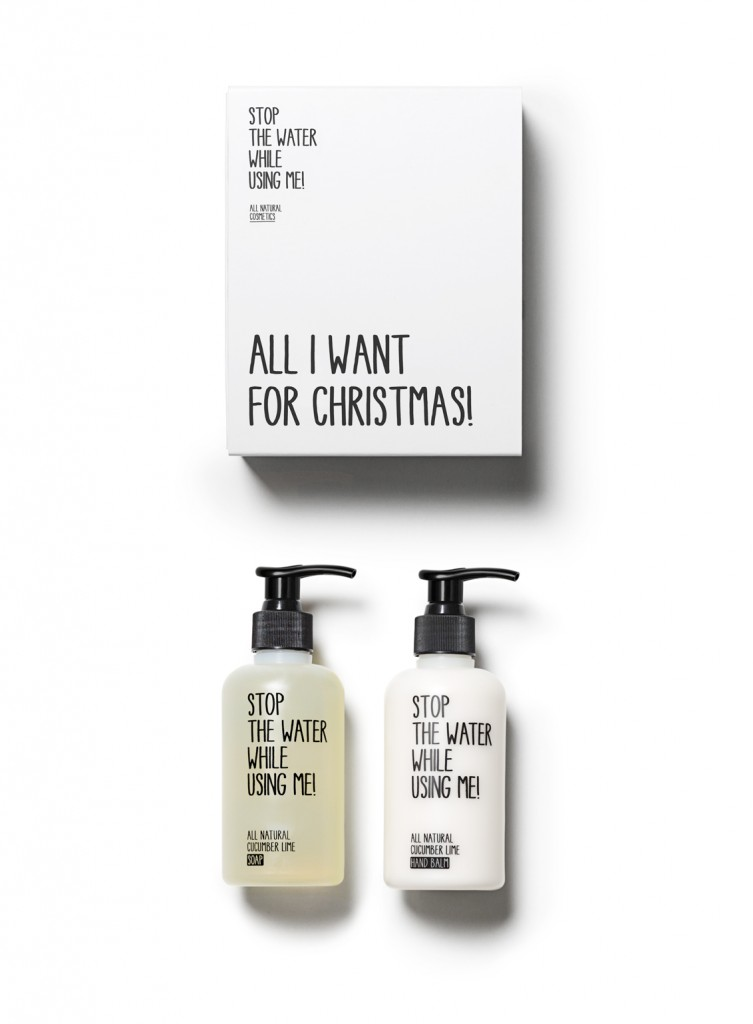 Save the Water while Using me - Christmas Kit