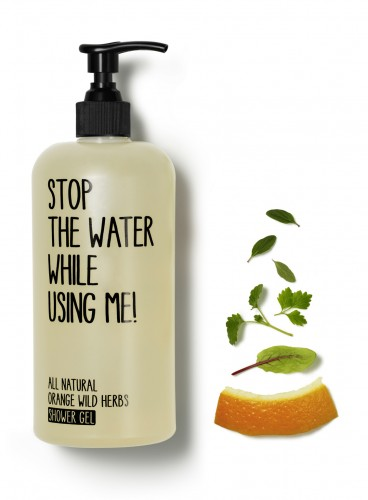 STOP THE WATER WHILE USING ME - Orange wild herbs Shower Gel