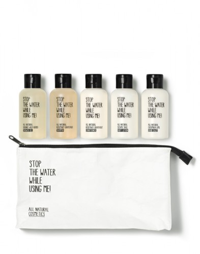 Stop the Water while using me Travel Kit - Geschenkideen für Fitnessfreaks