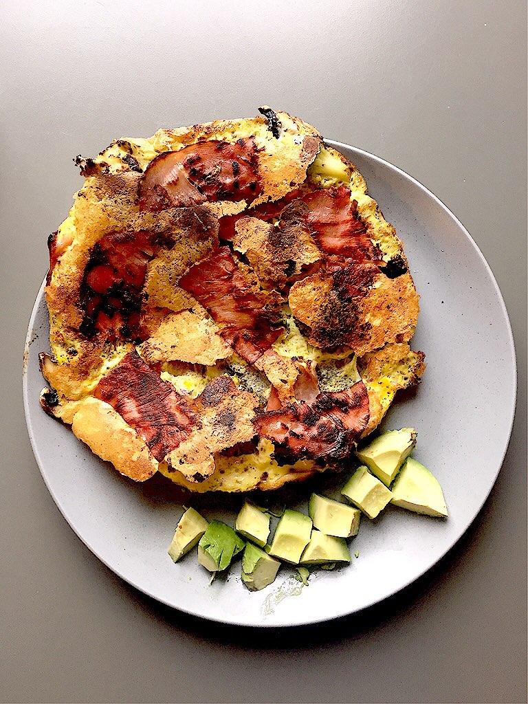 Omlette eignet sich bei einer Low Carb Diät hervorragend!