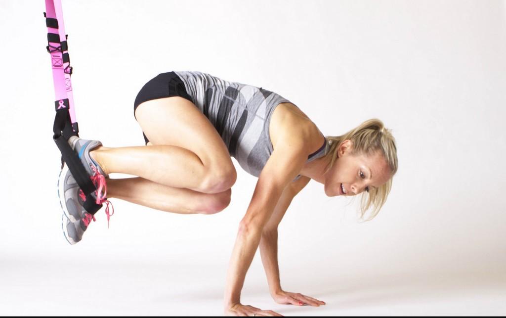 TRX Training - die besten Übungen für einen schönen flachen Bauch, starke Arme, Beine und Po -+ Gewinnspiel