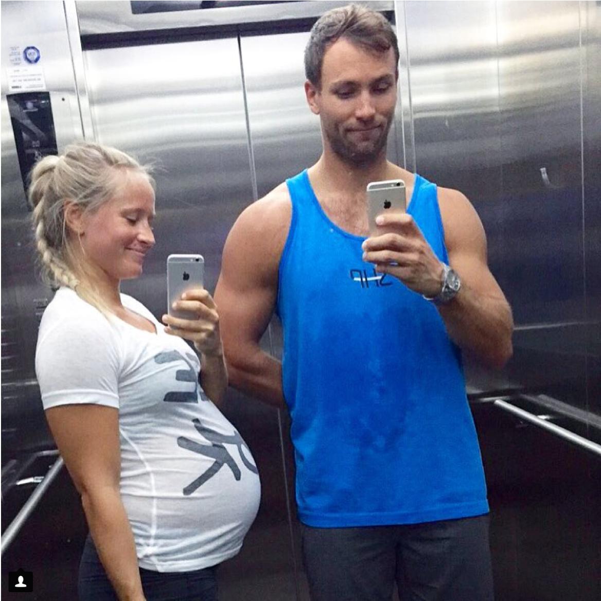 Inger und ihr Mann im SHP Fitnesstudio nach dem Training