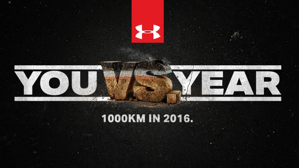 You VS the Year - die Running Challenge by Under Armour