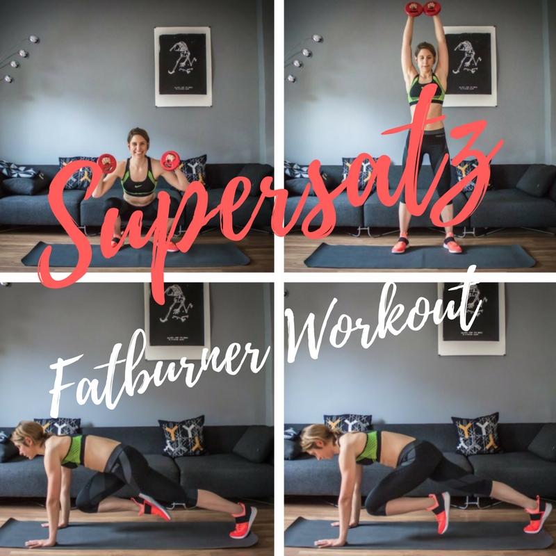Supersatz Fatburner Trainingsplan