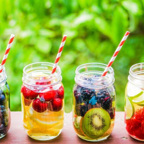 Detox Wasser Rezept für die Reinigung der Nieren, Leber und Dickdarm