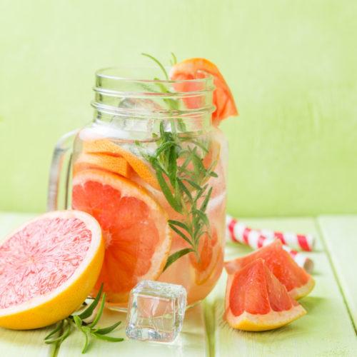 Detox Wasser Rezept gegen Blähungen