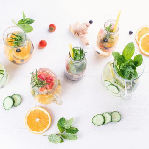 Mango-Ingwer Detox Wasser Rezepte