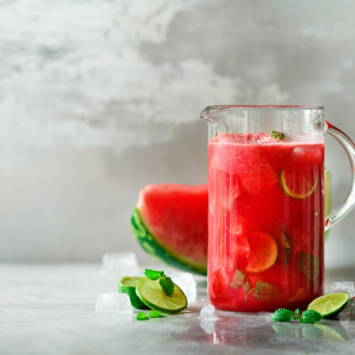 Detox Wasser Rezept Wassermelone