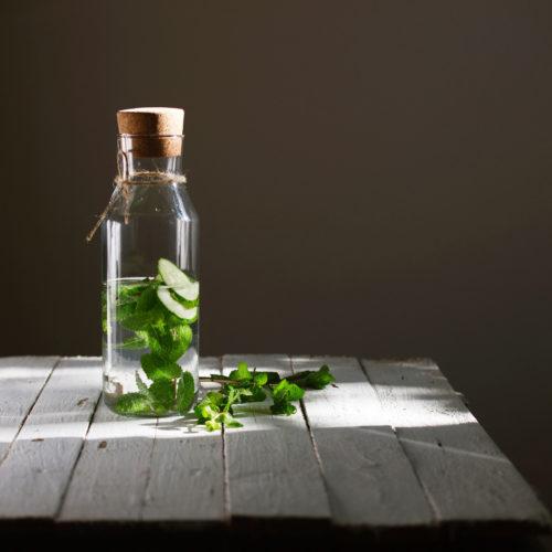 Aloe-Vera-Detox-Wasser Rezept