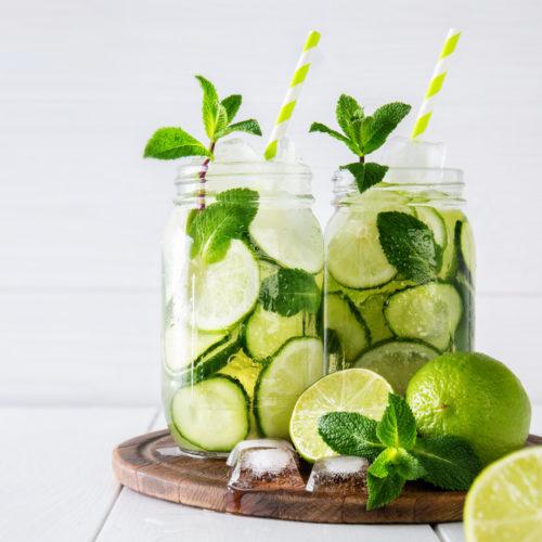 Zitrone-Ingwer-Detox-Wasser-Rezept
