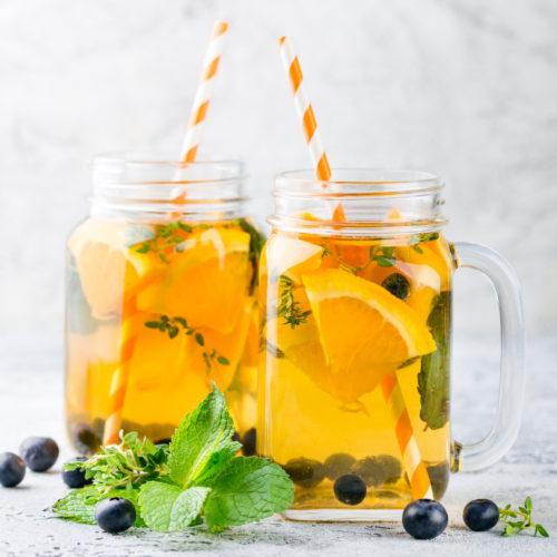 Detox Wasser Rezept Antioxydantien
