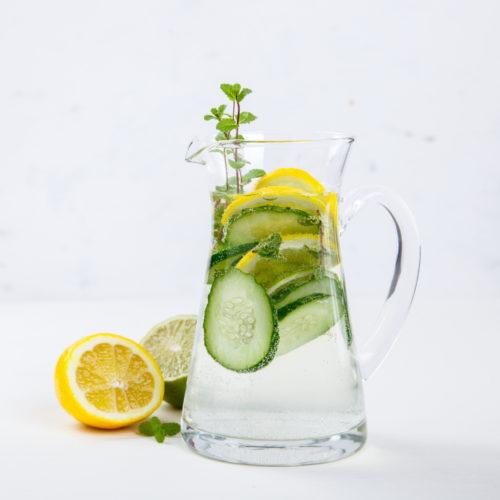 Fat Burner Detox Wasser Rezept zum schnellen Abnehmen und Fett verbrennen