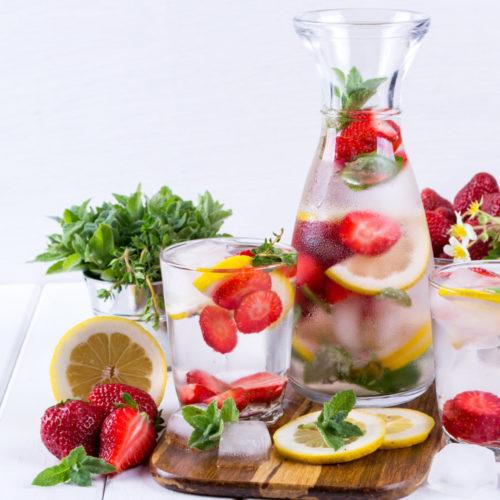 Anti-Stress-Detox Wasser Rezept