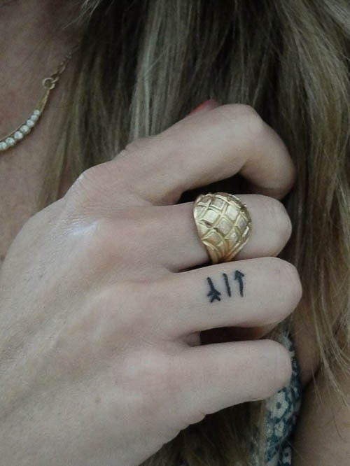 50 Mini Tattoo Motive als Vorlage