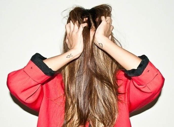 Mini Tattoos für Frauen - 50 Ideen für kleine Tattoos.