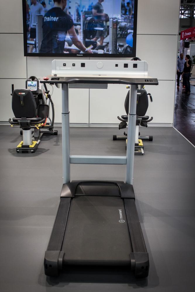 Fibo 2016 die fitness trends 2017 for Schreibtisch laufband