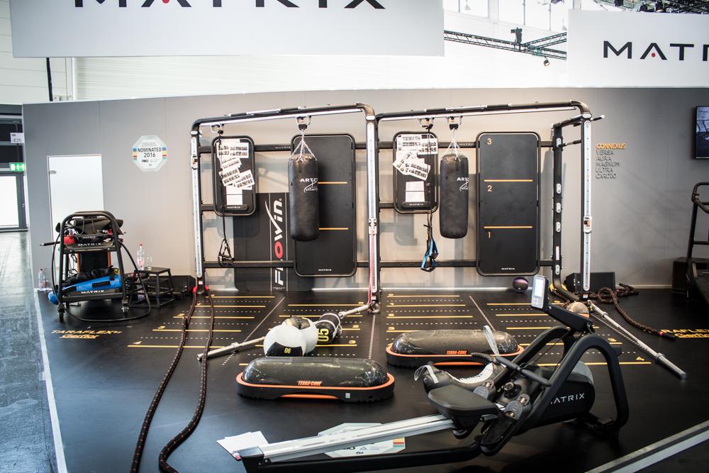 MATIX neuer Functional Training Park - gefiehl uns sehr gut, tolle Aufteilung, schick und alles da was man braucht.